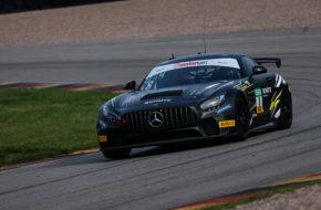 Marcus Suabo Alex Stefanov Schütz Motorsport Mercedes-AMG GT4 ADAC GT4 Germany Sachsenring