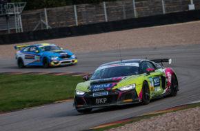 Hugo Sasse Will Tregurtha T3-HRT-Motorsport Audi R8 LMS GT4 ADAC GT4 Germany Sachsenring