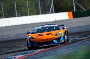 Patricija Stalidzane Aleksey Sizov Dörr Motorsport McLaren 570S GT4 ADAC GT4 Germany Hockenheim