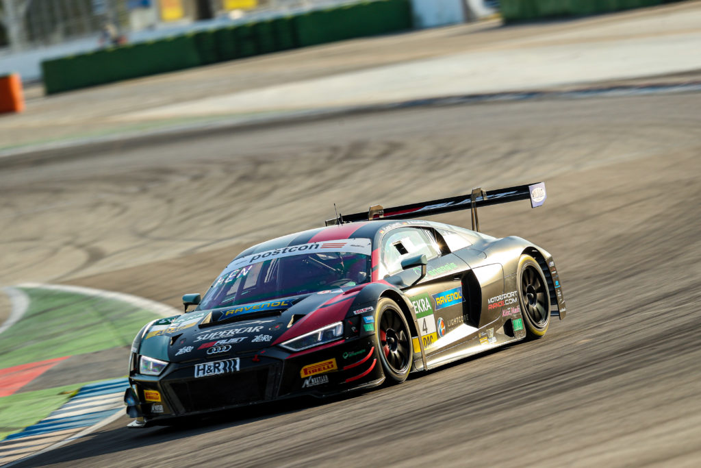 Hendrik von Danwitz Markus Winkelhock Motorsport Audi R8 LMS GT3 ADAC GT Masters Hockenheim