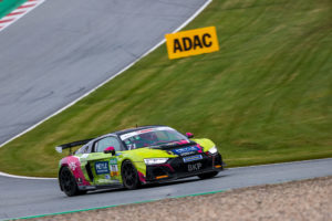 Will Tregurtha Hugo Sasse T3-HRT-Motorsport Audi R8 LMS GT4 ADAC GT4 Germany Red Bull Ring