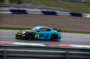 Jan Kasperlik Nicolaj Møller-Madsen Allied-Racing Porsche 718 Cayman GT4 Clubsport MR ADAC GT4 Germany Red Bull Ring