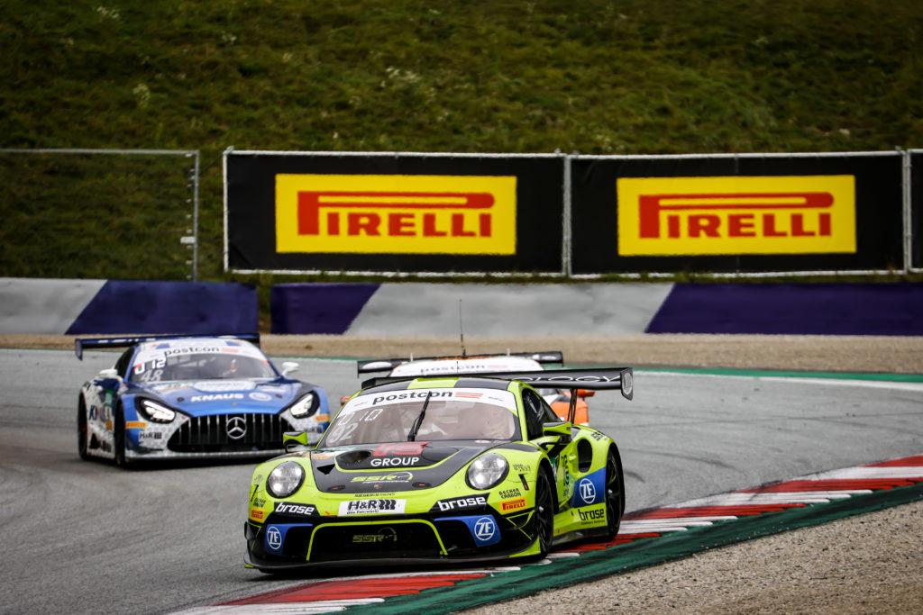 Michael Ammermüller Christian Engelhart SSR Performance Porsche 911 GT3 R ADAC GT Masters Red Bull Ring