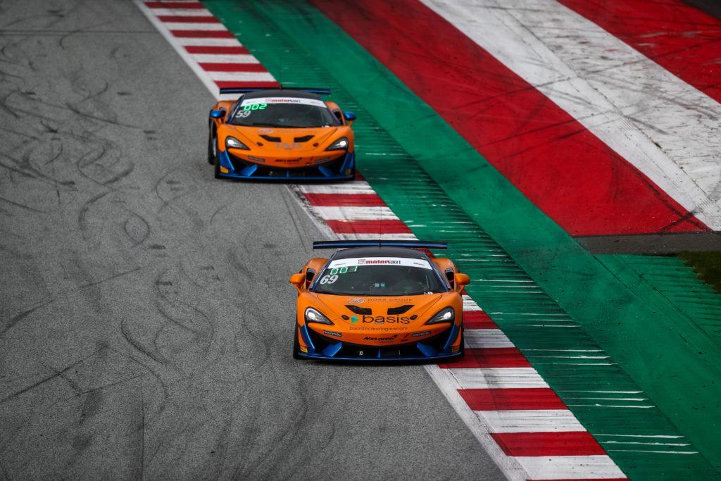 Phil Dörr Fred Martin-Dye Dörr Motorsport McLaren 570S GT4 ADAC GT4 Germany Red Bull Ring