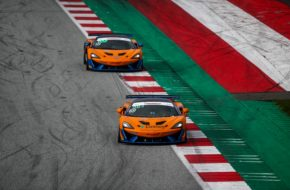 Phil Dörr Fred Martin-Dye Dörr Motorsport McLaren 570S GT4 ADAC GT4 Germany Red Bull Ring