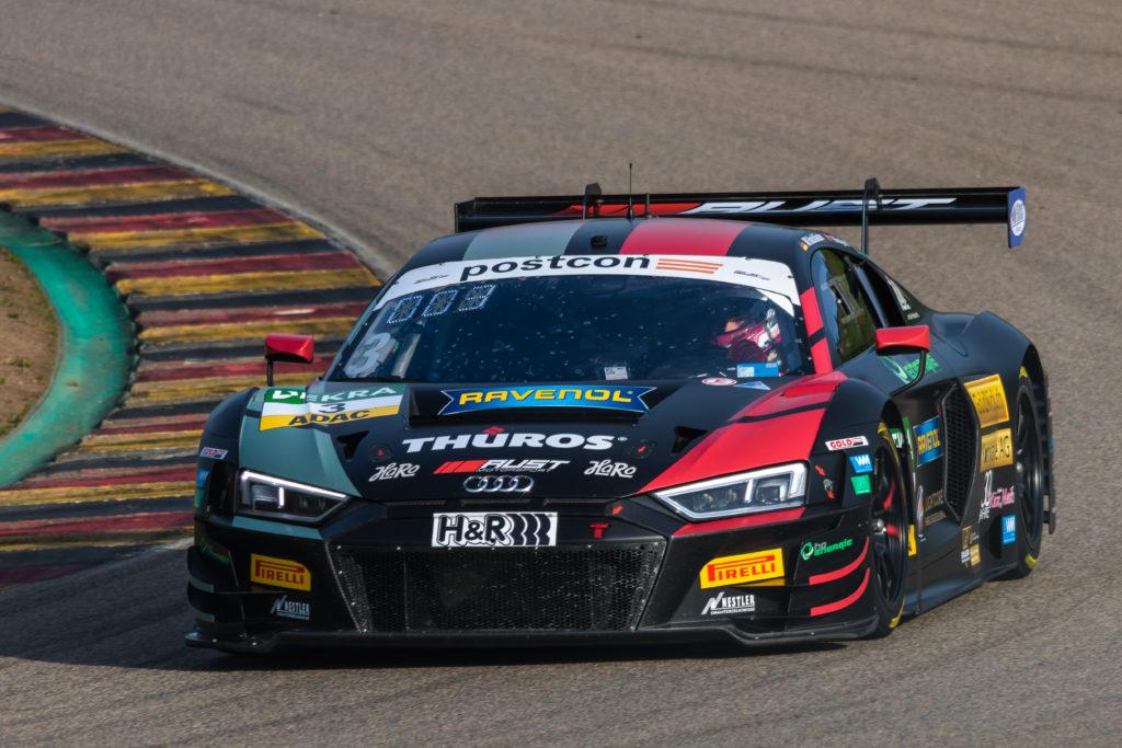 Maximilian Hackländer Nikolaj Rogivue Aust Motorsport Audi R8 LMS GT3 ADAC GT Masters Sachsenring