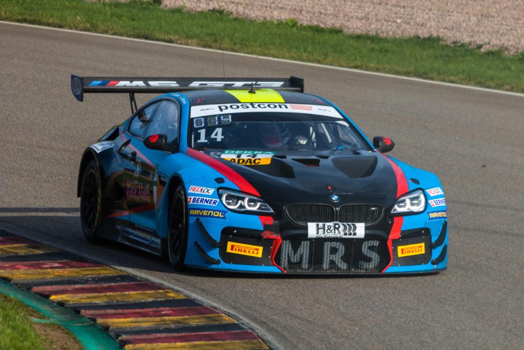 Erik Johansson Jens Klingmann MRS GT-Racing BMW M6 GT3 ADAC GT Masters Sachsenring