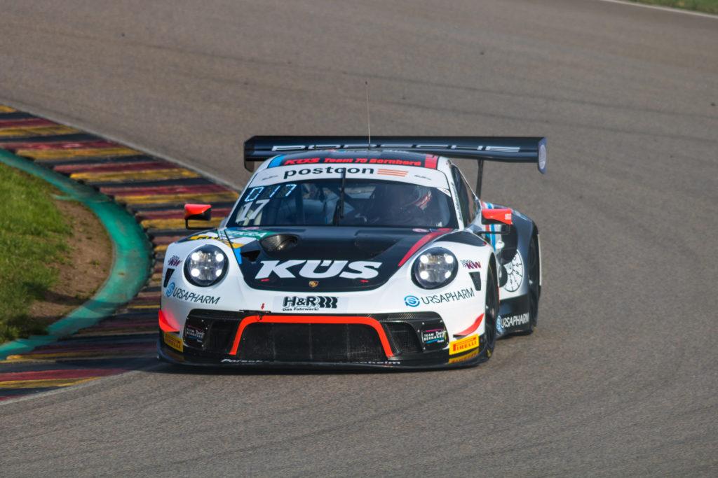 Klaus Bachler Simona de Silvestro KÜS Team75 Bernhard Porsche 911 GT3 R ADAC GT Masters Sachsenring