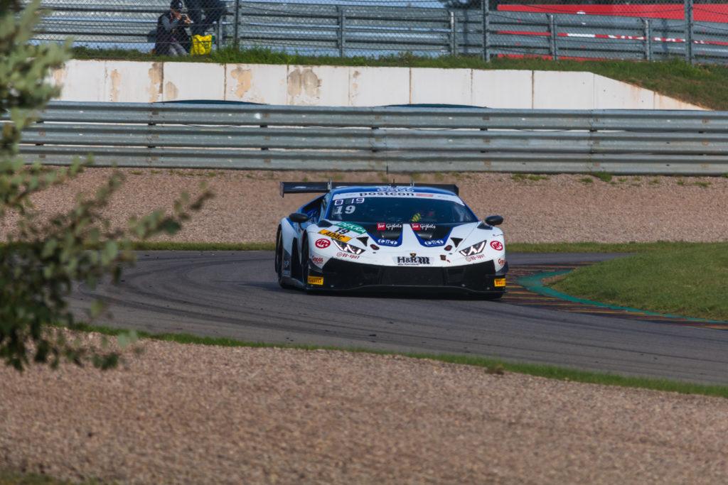 Niels Lagrange Clemens Schmid Grasser Racing Team Lamborghini Huracan GT3 ADAC GT Masters Sachsenring