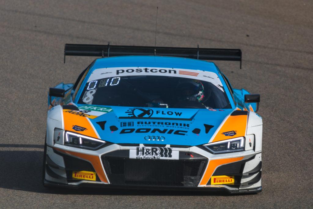 Carrie Schreiner Dennis Marschall Rutronik Racing Audi R8 LMS GT3 ADAC GT Masters Sachsenring