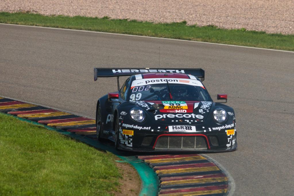 Robert Renauer Sven Müller Herberth Motorsport Porsche 911 GT3 R ADAC GT Masters Sachsenring