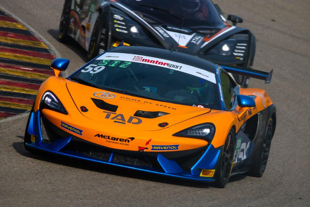 Aleksey Sizov Christopher Dreyspring Dörr Motorsport McLaren 570S GT4 ADAC GT4 Germany Sachsenring