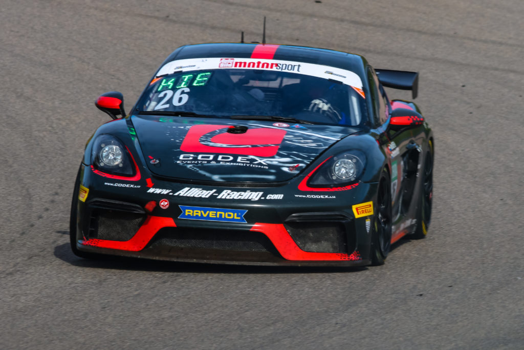 Tom Kieffer Christian Kosch Allied-Racing Porsche 718 Cayman GT4 Clubsport MR ADAC GT4 Germany Sachsenring