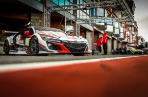 Mario Farnbacher Dane Cameron Renger van der Zande Honda Racing Honda NSX GT3 GT World Challenge Europe 24h Spa