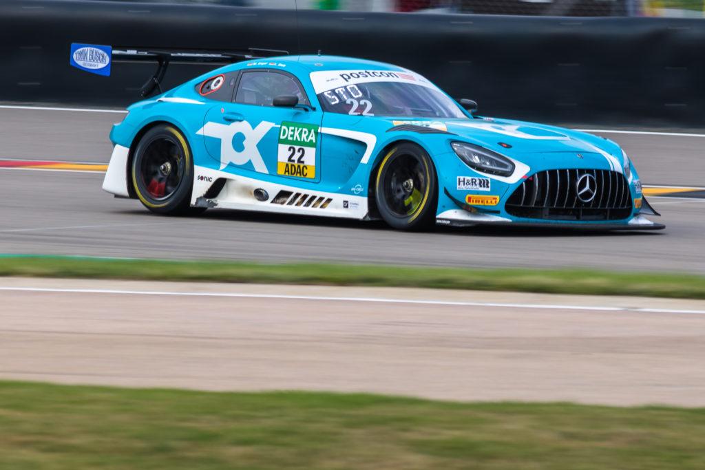 Luca Stolz Maro Engel Toksport WRT Mercedes-AMG GT3 ADAC GT Masters Sachsenring