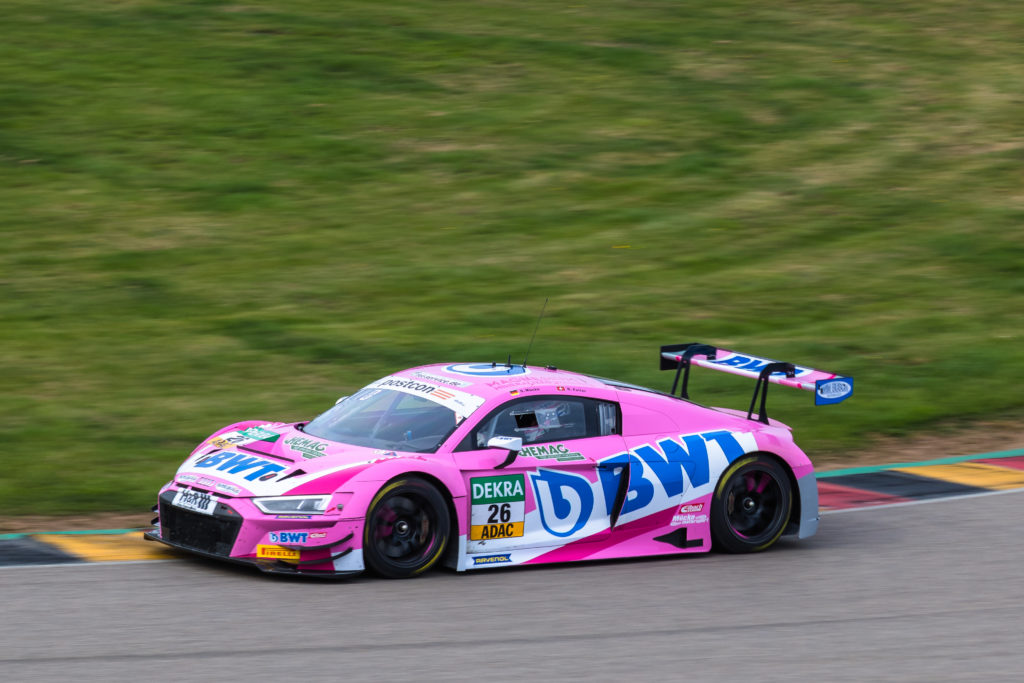 Ricardo Feller Stefan Mücke BWT Mücke Motorsport Audi R8 LMS GT3 ADAC GT Masters Sachsenring