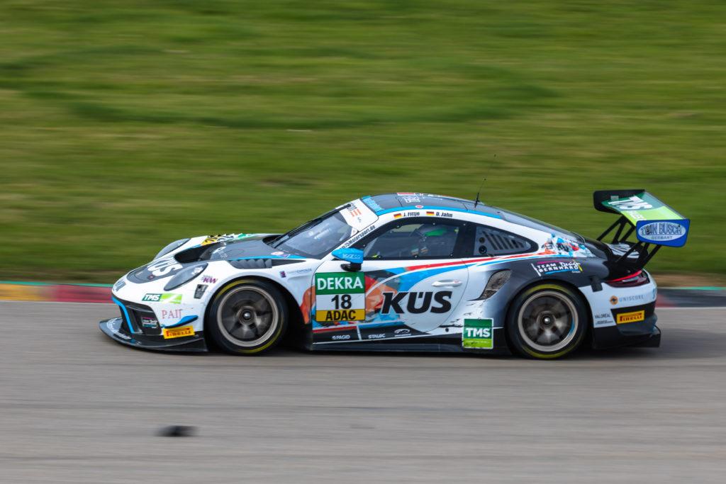 Jannes Fittje David Jahn KÜS Team75 Bernhard Porsche 911 GT3 R ADAC GT Masters Sachsenring