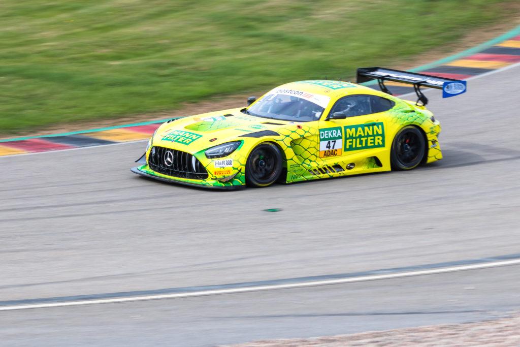 Indy Dontje Maximilian Götz HTP WINWARD Motorsport Mercedes-AMG GT3 ADAC GT Masters Sachsenring