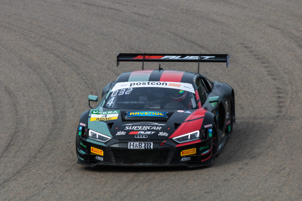 Hendrik von Danwitz Rahel Frey Aust Motorsport Audi R8 LMS GT3 ADAC GT Masters Sachsenring