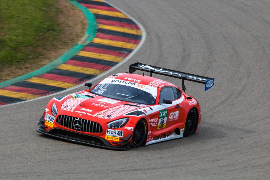 Marvin Dienst Philip Frommenwiler Schütz Motorsport Mercedes-AMG GT3 ADAC GT Masters Sachsenring