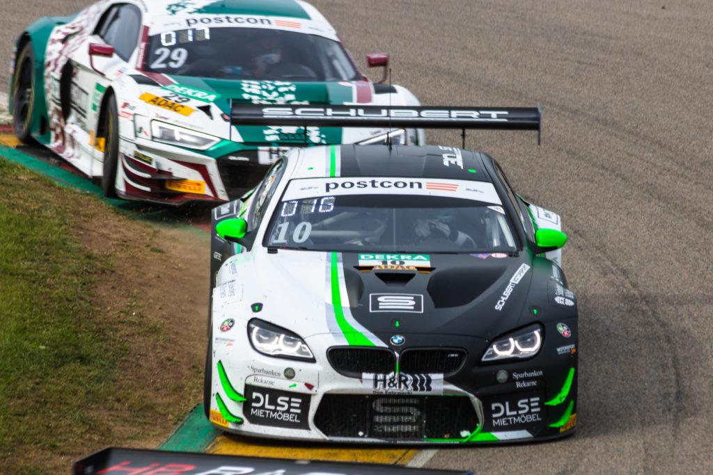 Henric Skoog Jesse Krohn Schubert Motorsport BMW M6 GT3 ADAC GT Masters Sachsenring