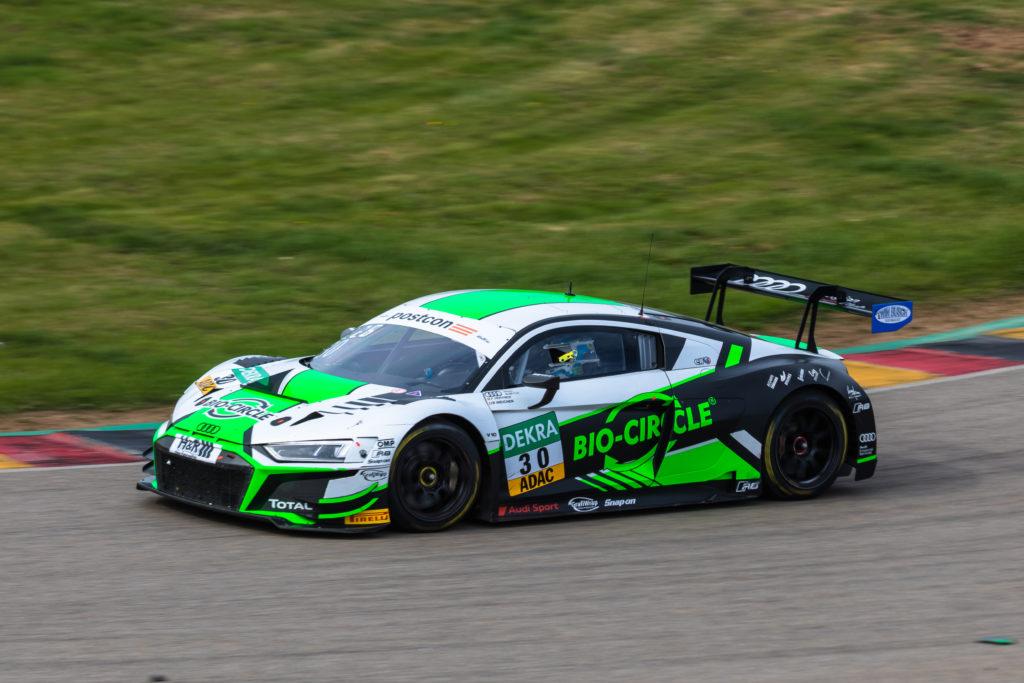 Rolf Ineichen Frédéric Vervisch Team WRT Audi R8 LMS GT3 ADAC GT Masters Sachsenring