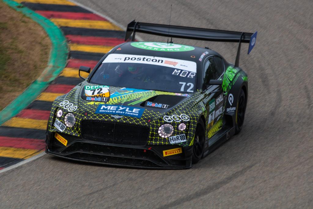 Constantin Schöll Seb Morris T3-HRT-Motorsport Bentley Continental GT3 ADAC GT Masters Sachsenring