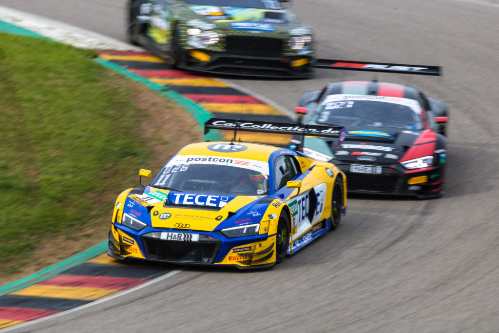Elia Erhart Pierre Kaffer EFP Car Collection by TECE Audi R8 LMS GT3 ADAC GT Masters Sachsenring