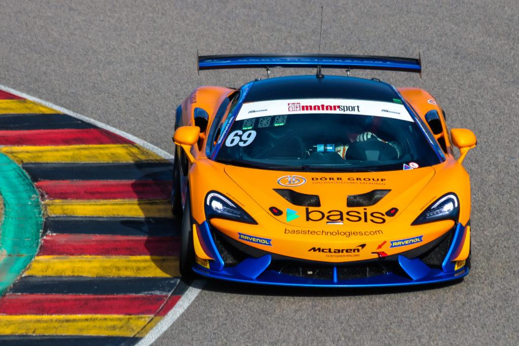 Phil Dörr Fred Martin-Dye Dörr Motorsport McLaren 570S GT4 ADAC GT4 Germany Sachsenring