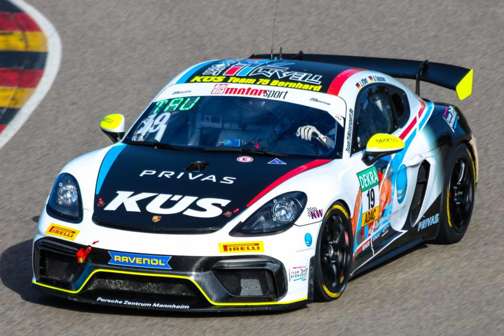 Levi O´Dey Alexander Tauscher KÜS Team75 Bernhard Porsche 718 Cayman GT4 Clubsport MR ADAC GT4 Germany Sachsenring