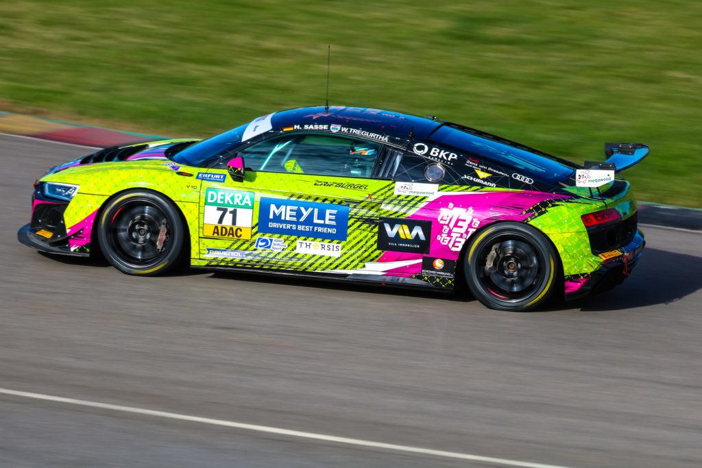 Will Tregurtha Hugo Sasse T3-HRT-Motorsport Audi R8 LMS GT4 ADAC GT4 Germany Sachsenring