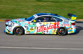Stephan Grotstollen Georg Braun Team lillestoff BMW M4 GT4 ADAC GT4 Germany Sachsenring