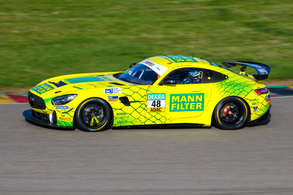 Julien Apotheloz Luci Trefz HTP WINWARD Motorsport Mercedes-AMG GT4 ADAC GT4 Germany Sachsenring
