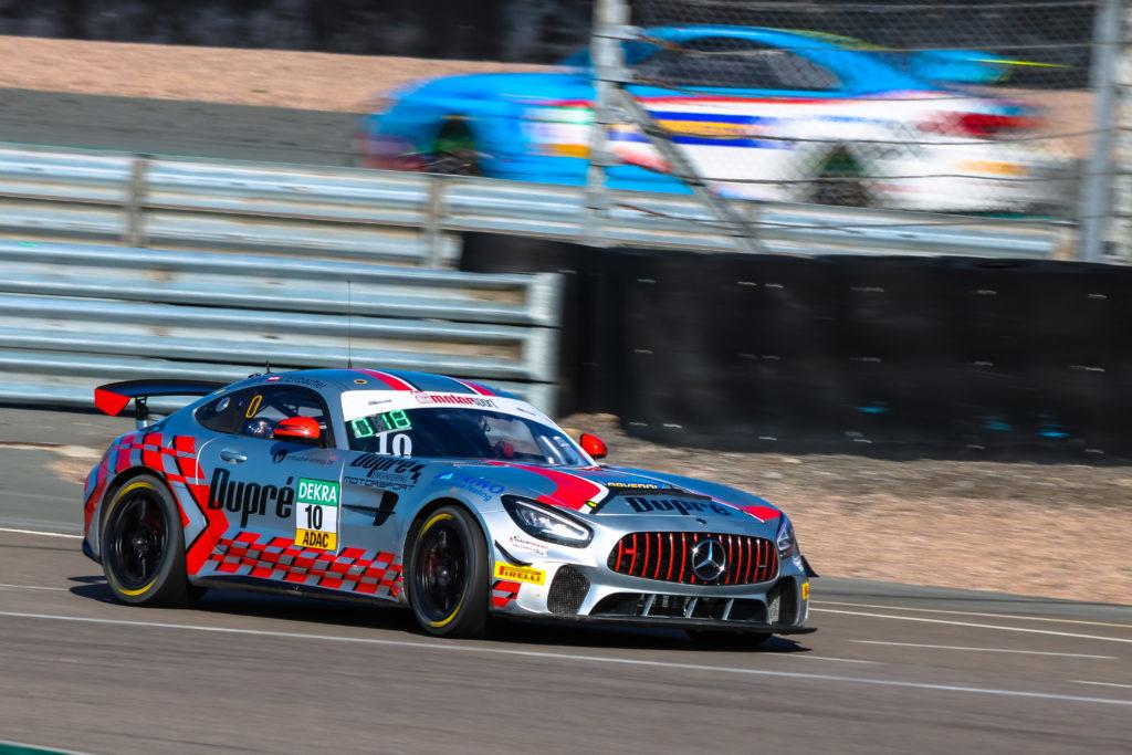 Jacob Erlbacher Christoph Dupré Dupré Motorsport Engineering Mercedes-AMG GT4 ADAC GT4 Germany Sachsenring