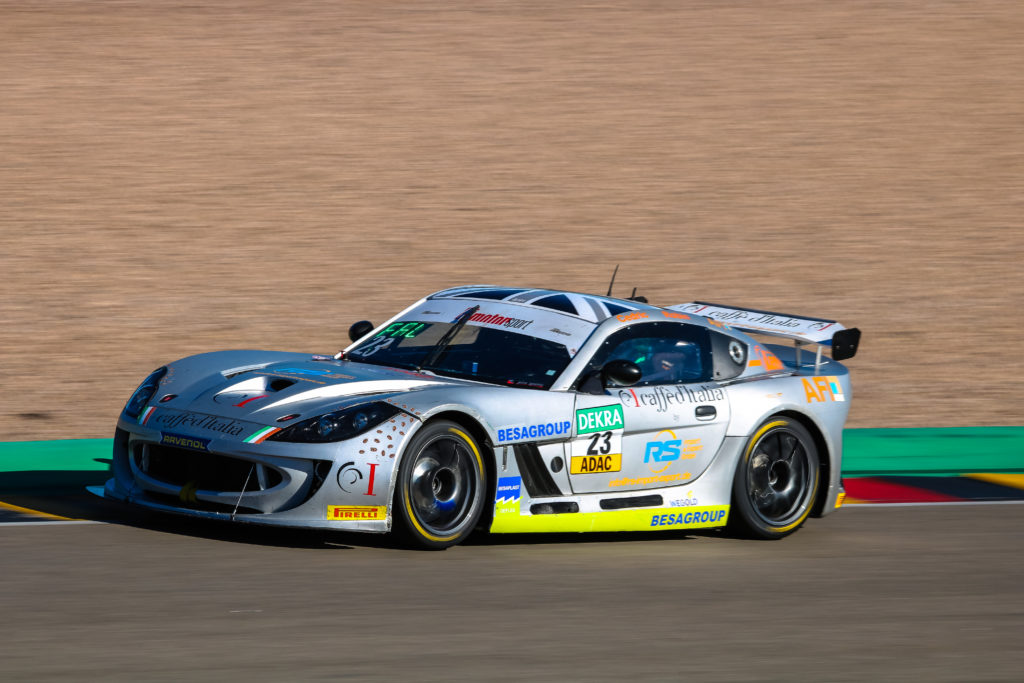 Cedric Piro Robin Falkenbach Piro Sports Ginetta G55 GT4 ADAC GT4 Germany Sachsenring