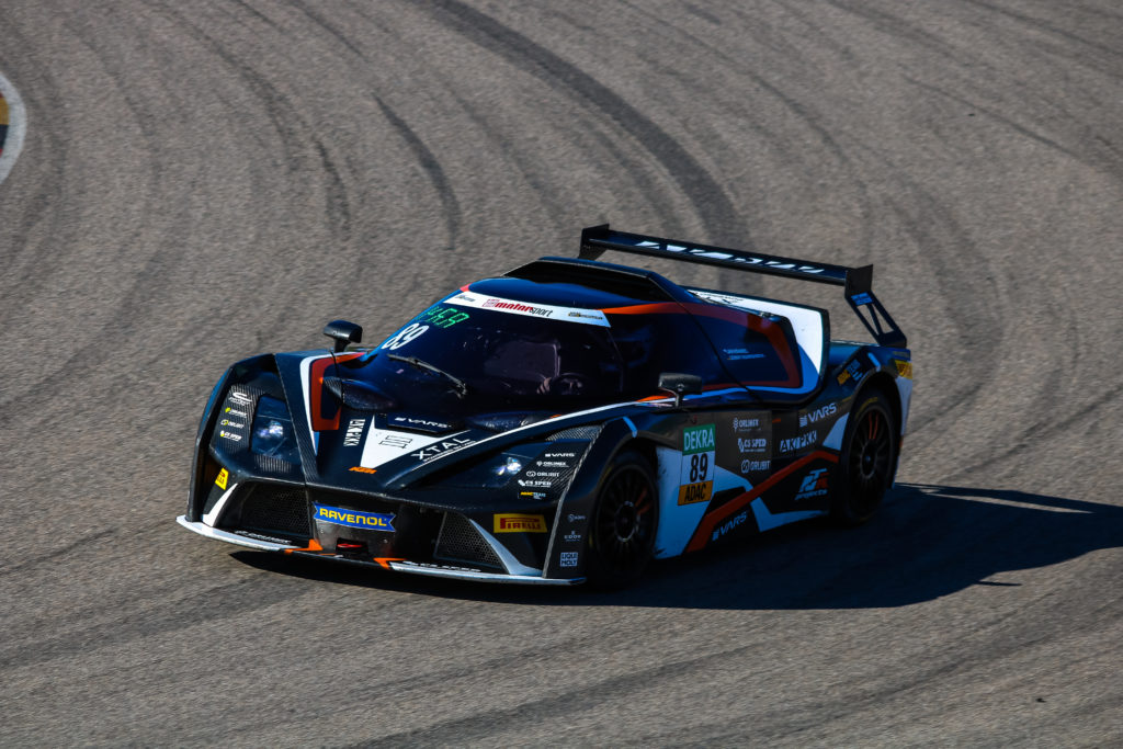 Jan Krabec Lennart Marioneck RTR projects KTM X-Bow GT4 ADAC GT4 Germany Sachsenring