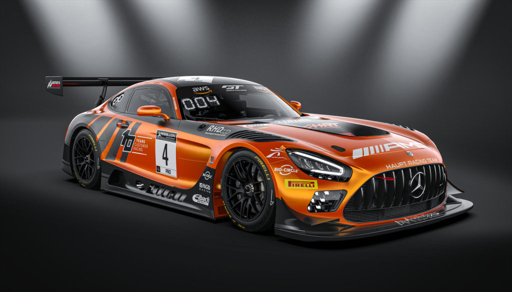 Vincent Abril Luca Stolz Maro Engel Haupt Racing Team Mercedes-AMG GT3