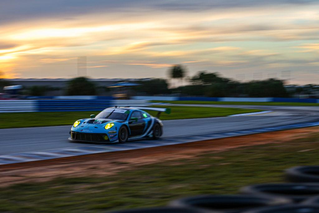 Ryan Harwick Patrick Long Wright Motorsports Porsche 911 GT3 R IMSA WeatherTech SportsCar Championship Sebring