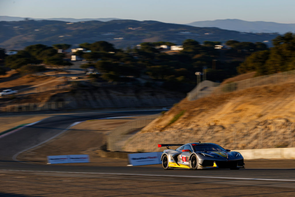 Oliver Gavin Tommy Milner Corvette Racing Corvette C8.R IMSA WeatherTech SportsCar Championship Laguna Seca