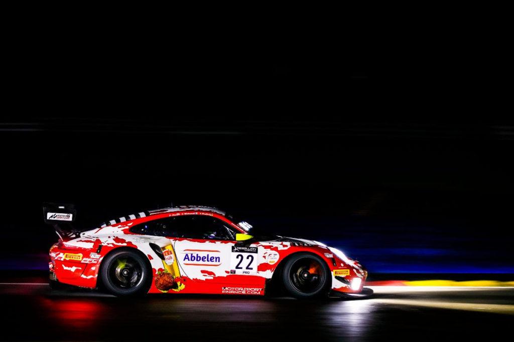Jörg Bergmeister Frédéric Makowiecki Dennis Olsen Frikadelli Racing Porsche 911 GT3 R GT World Challenge Europe 24h Spa