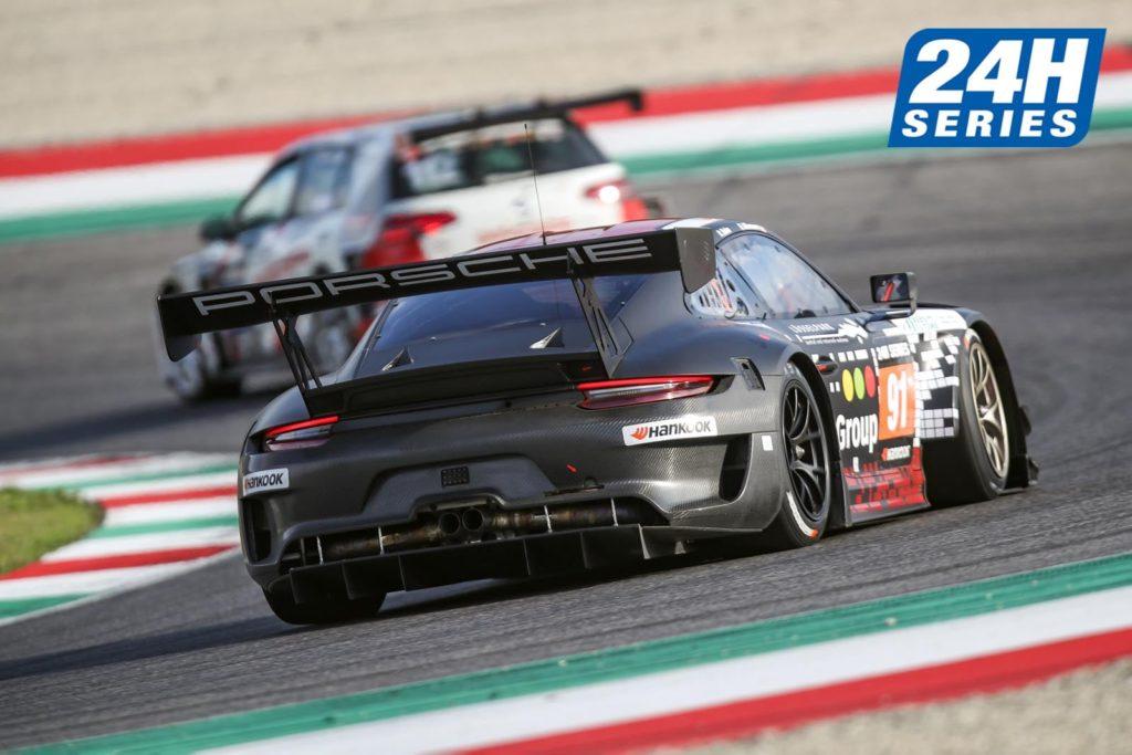 Robert Renauer Ralf Bohn Daniel Allemann Herberth Motorsport Porsche 911 GT3 R 24H Series Mugello
