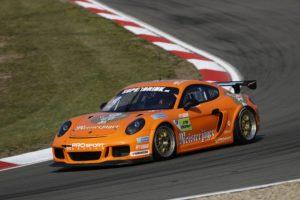 Peter Terting PROsport Racing Porsche Cayman Pro4 DTM Trophy Hockenheim