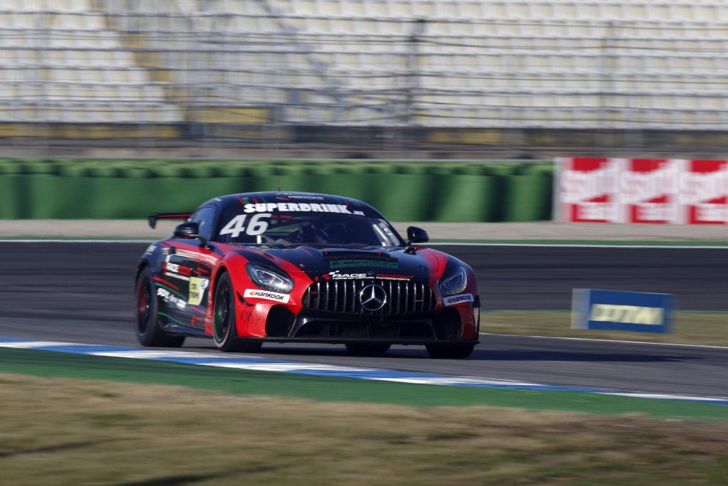 Tim Heinemann HP Racing International Mercedes-AMG DTM Trophy Hockenheim
