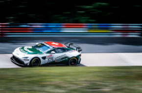 Guido Dumarey Alexander Walker PROsport Racing Aston Martin Vantage GT4 Nürburgring Langstrecken-Serie Nürburgring-Nordschleife
