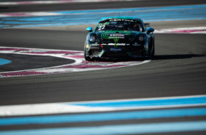Jan Kasperlik Bastian Buus Allied-Racing Porsche 718 Cayman GT4 Clubsport MR GT4 European Series Le Castellet