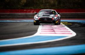 Lluc Ibañez Xavier Lloveras NM Racing Team Mercedes-AMG GT4 GT4 European Series Le Castellet