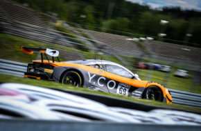 Joe Osborne Rob Bell Oliver Wilkinson Optimum Motorsport McLaren 720S GT3 GT World Challenge Europe Nürburgring
