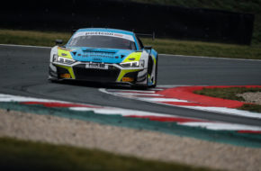 Patric Niederhauser Kelvin van der Linde Rutronik Racing Audi R8 LMS GT3 ADAC GT Masters Oschersleben