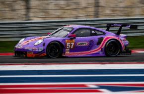 Felipe Fraga Jeroen Bleekemolen Ben Keating Project 1 Porsche 911 RSR FIA WEC Austin