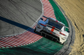 Laurens Vanthoor Earl Bamber Porsche GT Team Porsche 911 RSR IMSA WeatherTech SportsCar Championship Laguna Seca